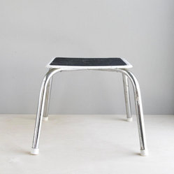 Simple Vintage Step Stool by Oh, Albatross