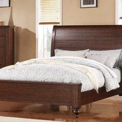 Riverside Furniture - Castlewood Sleigh Bed (Queen) - Choose Size: Queen