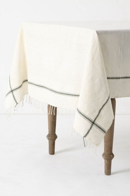 traditional table linens by Anthropologie