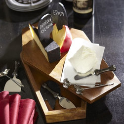 Vampire Cheese Box & Tools - Pair your stinkiest cheese with this vampire cheese set to keep Dracula away from your party.