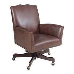 Hooker Furniture - Executive Swivel Tilt Chair - Executive Swivel Tilt Chair