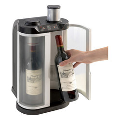 Wine Enthusiast EuroCave SoWine 2-Bottle Free Standing Home Wine Preservation Ba