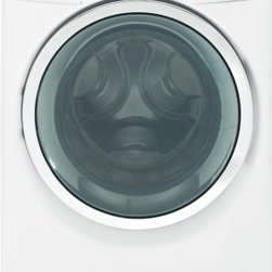 GE - GHWS3600FWW 4.8 DOE Cu. Ft. Capacity Front Load Steam Washer With Adaptive Vibra - The GHWS3600F steam washer comes with a new cycle called the single item cycle designed specifically for small loads and bulky blankets