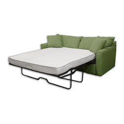 Select Luxury - Select Luxury Reversible 4-inch Queen-size Foam Sofa Bed Sleeper Mattress - This reversible foam sleep sofa bed mattress is made of 4-inch high-density foam covered in stretch knit ticking. Both sides of this lightweight reversible foam sofa sleeper mattress can be used.
