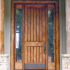 eclectic front doors by Doors by Decora