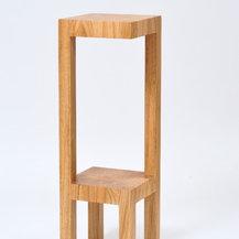 porte plante contemporain et table de t l phone contemporaine. Black Bedroom Furniture Sets. Home Design Ideas