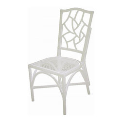 The Darlington Chair,  White - A set of timeless dining chairs will make it easy to redecorate your space as many times as you want without the added expense of new furniture. I like to add pillows or chair pads to my dining chairs for a quick, refreshing update to the space.