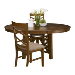 Liberty Furniture - Liberty Furniture Bistro 66x48 Oval Pedestal Dining Table - Bistro 66x48 Oval Pedestal Dining Table is a part of Bistro Collection by Liberty Furniture What's included: Dining Table (1).