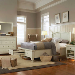 Aspenhome - Cambridge Storage Panel Bedroom Set -