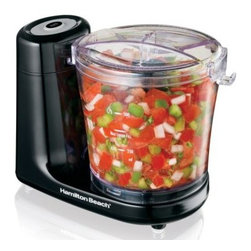 Hamilton Beach 72900 3 Cup Capacity Food Chopper - The Hamilton Beach 72900 3 Cup Capacity Food Chopper may be small, but it's very powerful. The removable parts are dishwasher-safe; the unit is easy to store and convenient to use. You'll appreciate the simple one-touch pulse with easy-to-clean touchpad. The stainless steel blade performs quick chopping, so you can enjoy the finished food items sooner, without the mess of hand-prep.About Hamilton BeachOne of the country's leading distributors of small kitchen appliances, Hamilton Beach Brands, Inc. sells over 35 million appliances every year. The company's most famous brands - Hamilton Beach, Eclectrics, Proctor Silex, and TrueAir - are found in households across America, Canada, and Mexico. Hamilton Beach takes immense pride in their product quality, wide variety of options, superior customer service, and brand name strength and remains committed to serving customers through Good Thinking applied to the style and function in all of their small electric appliances.