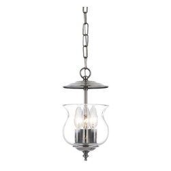 Crystorama Lighting - Crystorama Lighting 5717-PW Ascott Traditional Entry Chandelier in Pewter - Crystorama Lighting 5717-PW Ascott Traditional Entry Chandelier In Pewter