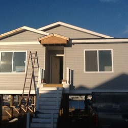 Modular home - Modular home in the process of being finished in Normandy Beach, NJ.