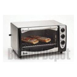 AVANTI - Avanti T9 Steel Toaster Oven Broiler 4 Slice Auto Shut Off - Avanti T9/Toaster Oven/Broiler/4Slice
