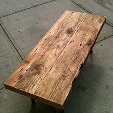 Rustic Coffee Tables by Coil + Drift