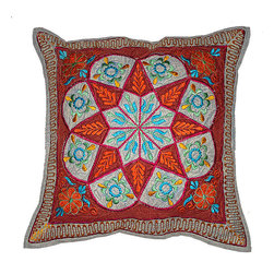Indian decor handmade cushion pillow covers - Indian decor handmade cushion pillow covers