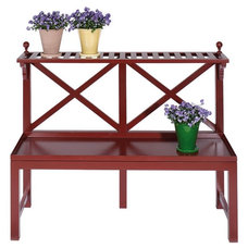 Traditional Outdoor Stools And Benches by marston-and-langinger.com