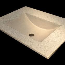 "Concrete Sinks - 37.5"" X 22.5"""