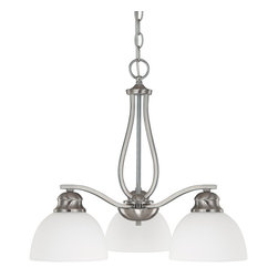Capital Lighting - Traditional Classic 3 Light Down Lighting ChandelierStanton Collection - In simplicity, we find elegance.