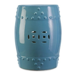IMAX CORPORATION - Essentials Garden Stool - Blue - Essentials Garden Stool - Blue. Find home furnishings, decor, and accessories from Posh Urban Furnishings. Beautiful, stylish furniture and decor that will brighten your home instantly. Shop modern, traditional, vintage, and world designs.