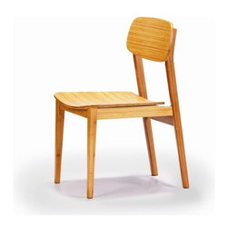 """Greenington - Currant Bamboo Side Chair (Set of 2) - This unique style completes traditional decor as well as contemporary. The stylish, elegant, and airy Currant collection is reminiscent of vintage Mid-Century Danish Modern styling. Features: -Material: 100% Bamboo.-High quality.-Certificated: ISO 9000 and ISO 14000.-Fully sustainable, environmentally friendly.-Currant collection.-Collection: Currant.-Distressed: No.-Powder Coated Finish: No.-Frame Material: Bamboo.-Solid Wood Construction: Yes.-Number of Items Included: 2.-Non-Toxic: Yes.-Scratch Resistant: Yes.-Rust Resistant: Yes.-Arms Included: No.-Upholstered Seat: No.-Upholstered Back: No.-Number of Legs: 4.-Leg Material: Bamboo.-Eco-Friendly: Yes.Specifications: -FSC Certified: Yes.-ISO 14000 Certified: Yes.Dimensions: -Overall Height - Top to Bottom: 33.5"""".-Overall Width - Side to Side: 20"""".-Overall Depth - Front to Back: 23"""".-Seat Height: 17.5"""".-Seat Depth - Front to Back: 22"""".-Arms: No.-Overall Product Weight: 20.9 lbs.Assembly: -Assembly Required: No."""