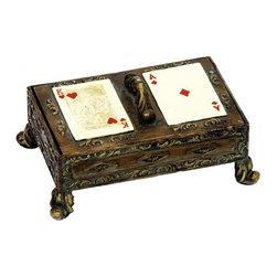 Sterling Industries - Gameroom Card Box - Gameroom Card Box