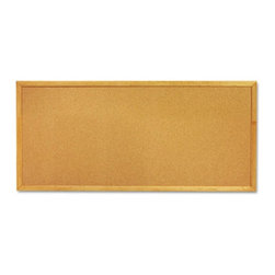 Quartet - Quartet 36 x 12 in. Cork Slim Line Bulletin Board - QRT300 - Shop for Bulletin Boards from Hayneedle.com! Display your messages clearly with the Quartet 36 x 12 in. Cork Slim Line Bulletin Board. Featuring high-quality construction with a wooden frame and self-healing cork surface it s both sturdy and durable. This board is smartly designed with a wide surface so you can easily post notes messages and other information. The bulletin board also has a heavy-duty mounting system for easy and secure installation. It s an ideal must-have for any workspace.About United StationersDedicated to making life in the office more organized efficient and easier United Stationers offers a wide variety of storage and organizational solutions for any business setting. With premium products specifically designed with the modern office in mind we're certain you will find the solution you are looking for.From rolling file carts to stationary wall files every product in the United Stations line is designed with one simple goal: to improve office efficiency. In turn you will find increased productivity happier more organized employees and an office setting that simply runs better with the ultimate goal of increasing bottom line profits.