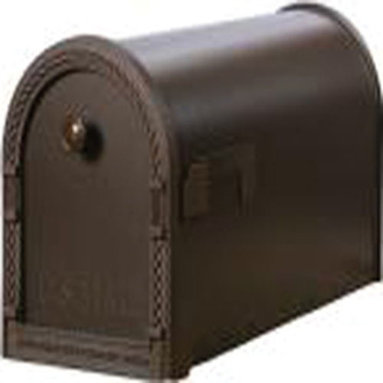 SOLAR GROUP - Mailbox Decorative Large Venetian Bronze - Large curbside mailbox with a decorative rope door trim and round pull knob. Powdered coated finish. Made of heavy duty steel construction for long lasting durability and comes with a matching USPS approved flag already assembled on the mailbox.