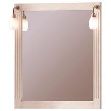 Mediterranean Bathroom Mirrors by Macral Design Corp