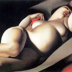 TOPofART.com - La Belle Rafaela | Lempicka | Painting Reproduction | TOPofART.com - Tamara de Lempicka - La Belle Rafaela, 1927 - Hand-Painted Oil Painting Reproduction.