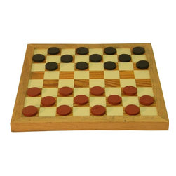The Rusted Nail LLC - Checker Board with Checkers - This checkers set is fun for the whole family and handsome enough to sit on display in your home. It's made from reclaimed barn wood with hand-painted pieces, and treated and sealed to become an heirloom you can pass down to future generations.