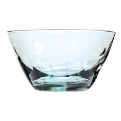 Recycled Glass With Dots Bowl, Set Of 4