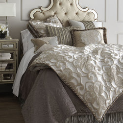 """Pure Pewter"" Bed Linens -"