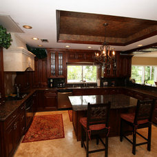 Traditional Kitchen Islands And Kitchen Carts by Innovation Cabinetry