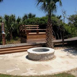 New Hardcape Landscaping on Kiawah Island, SC -