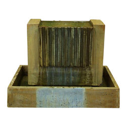 Falls Outdoor Fountain, Atri - This is our newest design! Be the first to grab this attention grabber in your home.