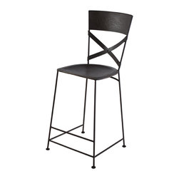 Jabalpur Counter Stool Zinc - Product Features: