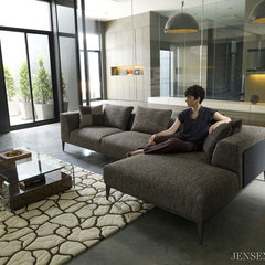 contemporary sectional sofas by Jensen-Lewis Furniture