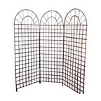 """Master Garden Products - Willow Screen, 3 Panel Divider, 72""""W x 72""""H - Our self standing willow screen and room dividers can be used indoors or outdoors, in residential or any commercial facilities, to divide an area for privacy or to create an extra room. They can be folded and stored away easily when not in use. Our self standing willow screens are great for outdoors and indoors."""