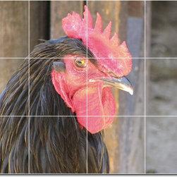 Picture-Tiles, LLC - Birds Photo Ceramic Tile Mural 4 - * MURAL SIZE: 36x48 inch tile mural using (12) 12x12 ceramic tiles-satin finish.