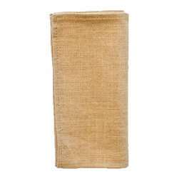 Silverado Home - Ghent Wheat Napkin Set - Sold in Sets of 4: