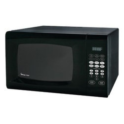 MAGIC CHEF - MAGIC CHEF MCM990B .9 Cubic-ft, 900-Watt Microwave with Digital Touch (Black) - � .9 cu ft capacity;� 900W;� 10 power levels;� Express cooking functions;� Electronic controls with LED display;� Kitchen timer/clock;� Weight & time defrost;� 6 quick-set menu buttons;� Child safety lock;�Black