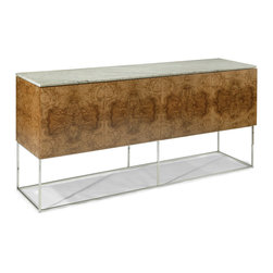 Design Classic Buffet with Marble Top by Milo Baughman from Thayer Coggin - Thayer Coggin, Inc.