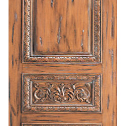"Tuscany Style Hand Carved Mahogany Single Door, scroll motif - SKU#    33-Tuscany_1Brand    AAWDoor Type    ExteriorManufacturer Collection    International Collection Exterior DoorsDoor Model    Door Material    WoodWoodgrain    MahoganyVeneer    Price    1190Door Size Options    30"" x Height"" (2'-6"" x 6'-8"")  $032"" x Height"" (2'-8"" x 6'-8"")  $036"" x Height"" (3'-0"" x 6'-8"")  +$3042"" x Height"" (3'-6"" x 6'-8"")  +$19036"" x Height"" (3'-0"" x 7'-0"")  +$15030"" x Height"" (2'-6"" x 8'-0"")  +$27032"" x Height"" (2'-8"" x 8'-0"")  +$27036"" x Height"" (3'-0"" x 8'-0"")  +$30042"" x Height"" (3'-6"" x 8'-0"")  +$300Core Type    SolidDoor Style    Tuscan StyleDoor Lite Style    Door Panel Style    Hand Carved Panel , Raised Carved Moulding , 3 PanelHome Style Matching    Door Construction    Solid Stiles and RailsPrehanging Options    Prehung , SlabPrehung Configuration    Single DoorDoor Thickness (Inches)    1.75Glass Thickness (Inches)    Glass Type    Glass Caming    Glass Features    Glass Style    Glass Texture    Glass Obscurity    Door Features    Door Approvals    Door Finishes    Door Accessories    Weight (lbs)    340Crating Size    25"" (w)x 108"" (l)x 52"" (h)Lead Time    Slab Doors: 7 daysPrehung:14 daysPrefinished, PreHung:21 daysWarranty    1 Year Limited Manufacturer WarrantyHere you can download warranty PDF document."