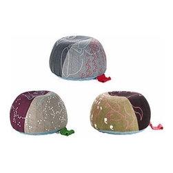 Vitra - Vitra   Bovist Pillow / Ottoman - Design by Hella Jongerius, 2005.