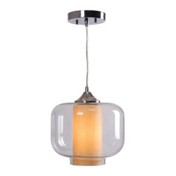 Kenroy Home - Kenroy Home 93020 Zuno 1 Light Mini Pendant - Features: