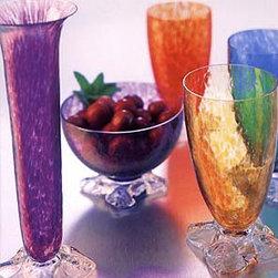 Glassware - Savannah glassware by Smyers Glass.