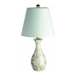 "All the Rages - All the Rages LT1002 Elegant Designs 22.05"" Height 1 Light Table Lamp - Specifications:"