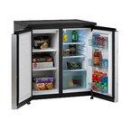 "Avanti - SIDE-BY-SIDE Compact Refrigerator/Freezer - Dimensions: 33.5"" H x 31"" W x 23"" D"