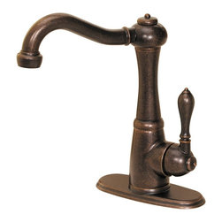 Price Pfister - Price Pfister 475783 Marielle 1-Handle 1 or 3-Hole Lead-Free Bar/Prep Faucet - Single control elegance with a vintage French country design, the Murielle single control bar faucet is sure to bring new life to any kitchen, making coordinating the look of your kitchen easier than before.