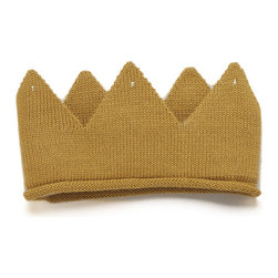 Wild Things Crown - A woven wool gold crown would be fun for playtime and would also look so cute sitting on a shelf.